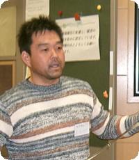 発表者:原 鋭次郎氏 砂漠緑化団体 地球緑化クラブ