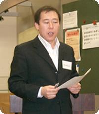 発表者:B. セルゲレン氏 内モンゴル沙漠化防止植林の会